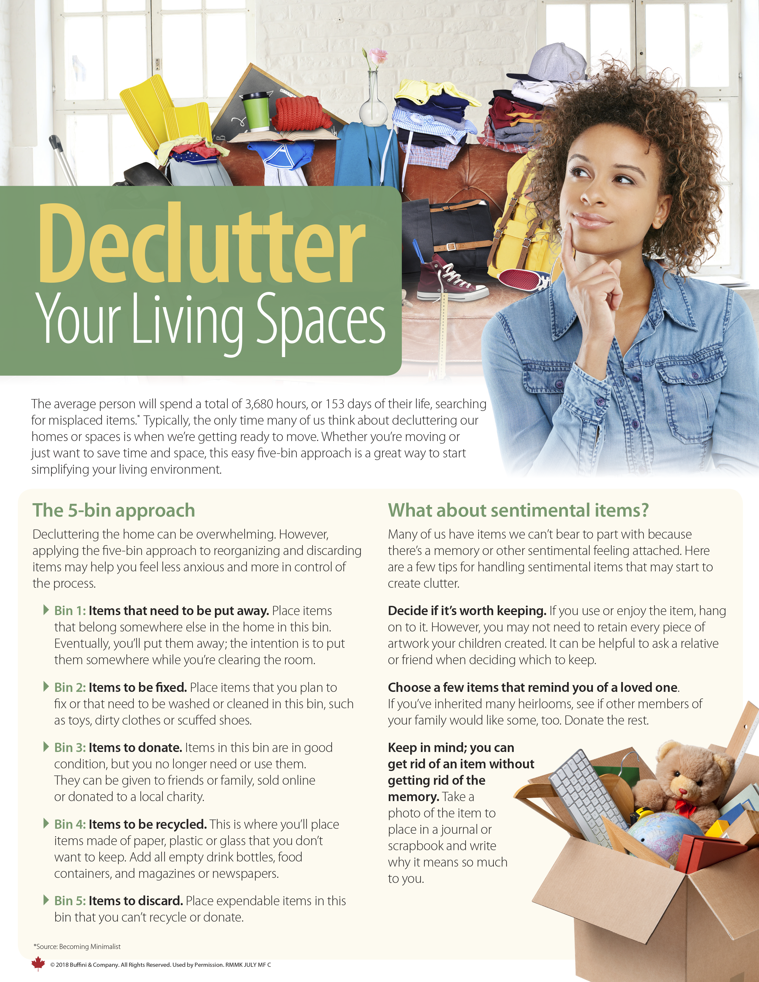 Declutter Your Living Spaces - Page 1