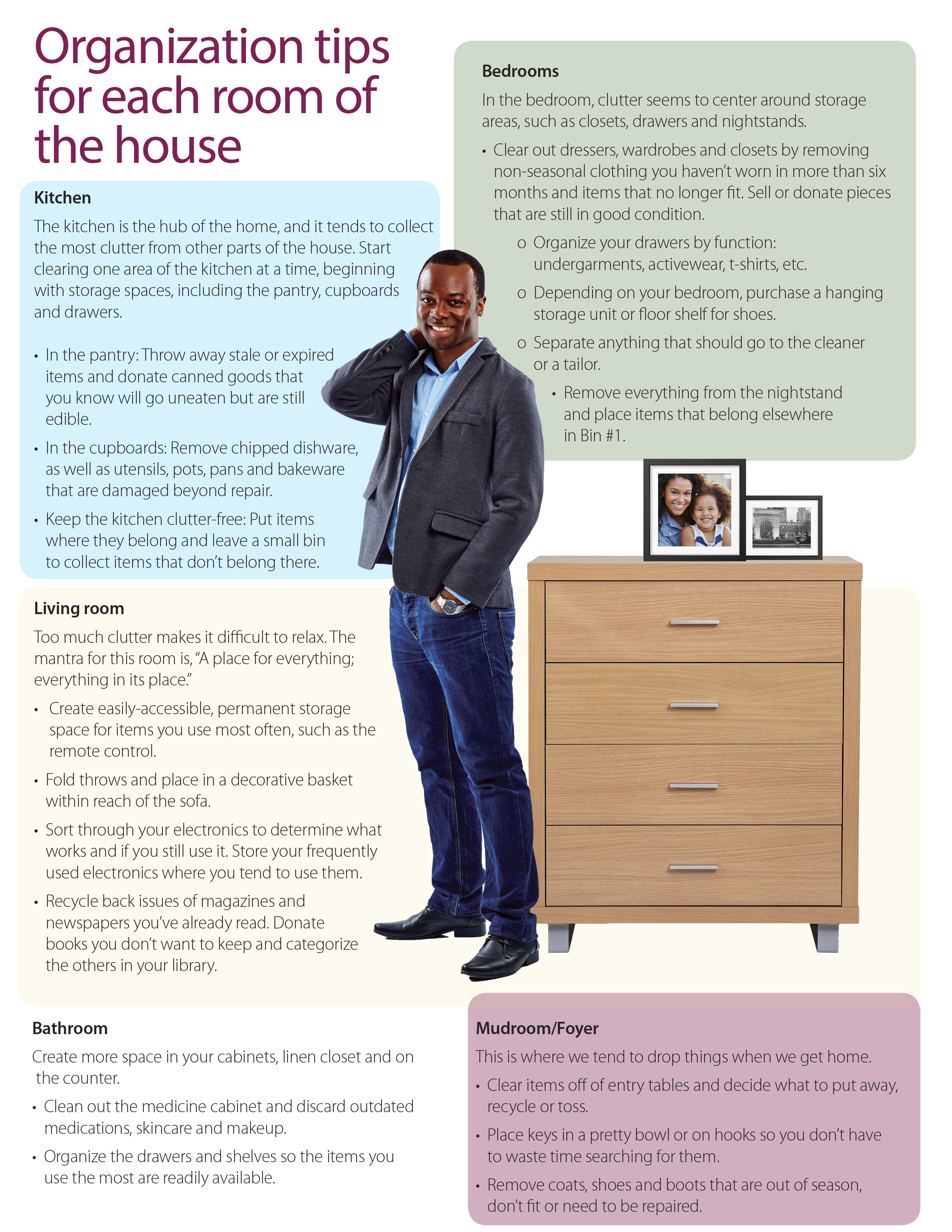 Declutter Your Living Spaces - Page 2