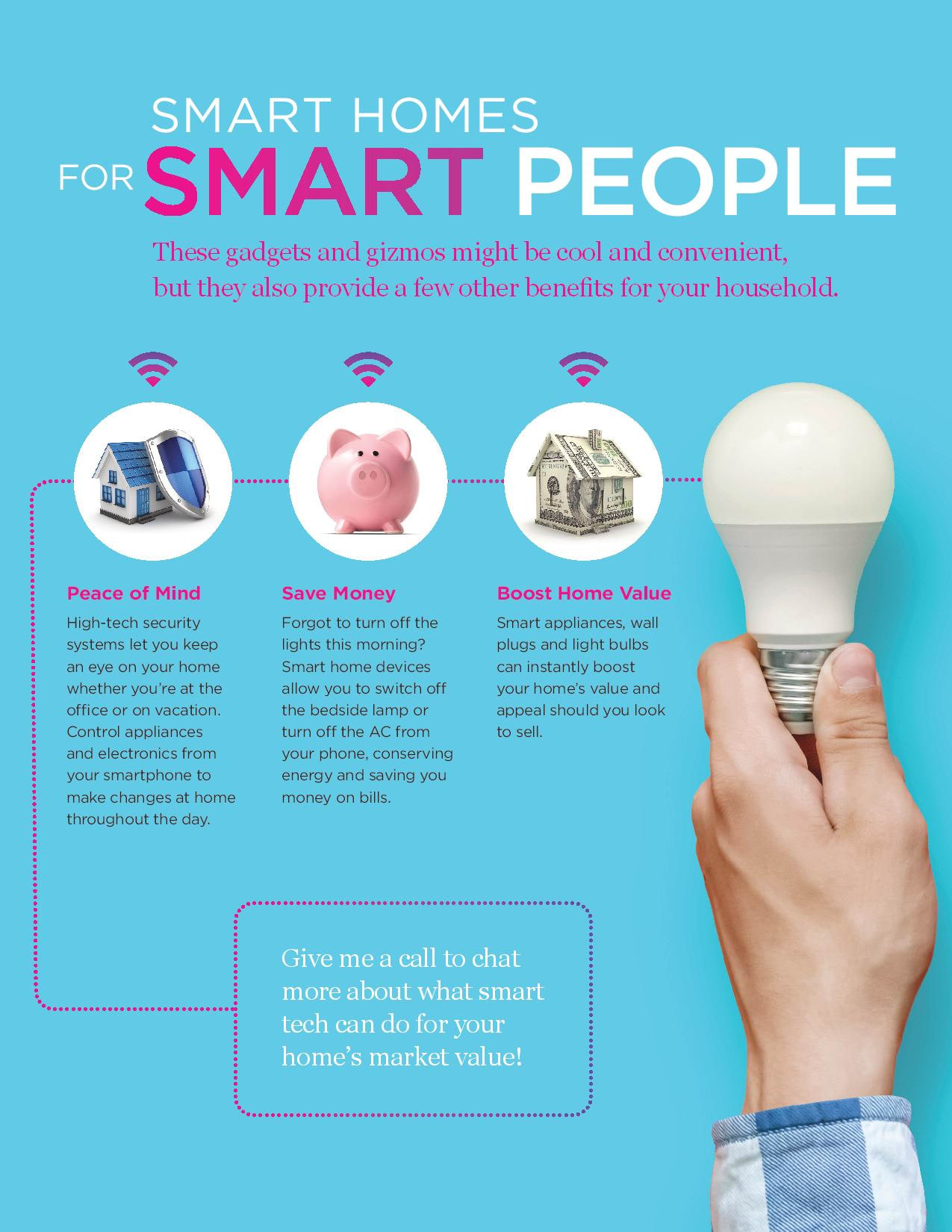 Smart Homes for Smart People