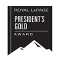 Royale LePage Presidents Gold Award | Team Zold